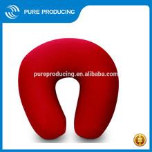 Polystyrene beads travel pillow