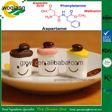 Precio competitivo aditivos alimentarios edulcorante aspartame