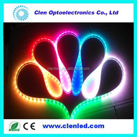 12v magic rgb led strip chasing light 5050 rgb TM1812 ic digital led strips 8806 led strip LPD8806 RGB LED tape