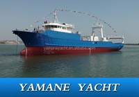 58m stern ramp freezing steel fishing trawler new model