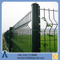 Beautiful Water-proof Adjustable and High Security Fence Netting/ Bended Triangle Fence Series