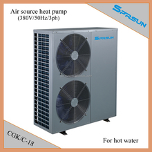 China high COP air to water heat pump 18kw (for hot water and/or house heating)
