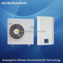 dc inverter air to water heat pump for heating, cooling, hot water