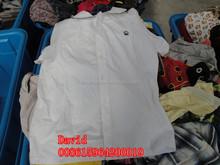 Venta al por mayor buen precio de la ropa usada en balas miami