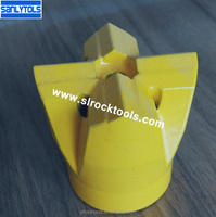 43mm small hole drilling tapered cross bits