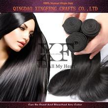 China wholesale cheap remy natural straight 6a 100% virgin Brazilian human hair weaving
