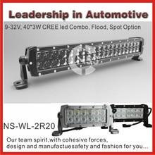 China wholesale hot product 4x4 vehicle high lumens 120w cree off road led light bar