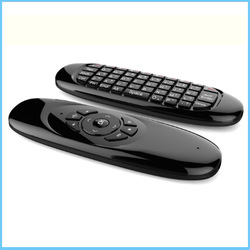 Air mouse c120 rechargeable wireless air fly mouse and keyboard combo for android tv box