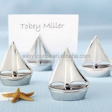 Bulk name card clip wedding and event supplies Place Card Holders sailing ship seat card holder