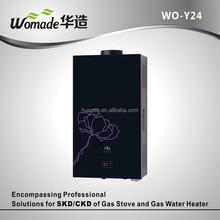 Conducto de humos tipo conducto instantánea gas géiser calentador de agua