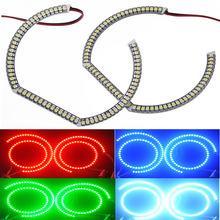rgb color changing Halo Rings Kit led angel eye for hyundai