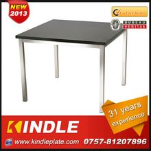 luxury small metal iron dining table for sale