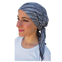 Pre Tied Fitted Bandana Head Scarf, Chemo Scarf