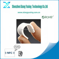 High quality reusable silicone RFID flexible laundry tag for cloth management