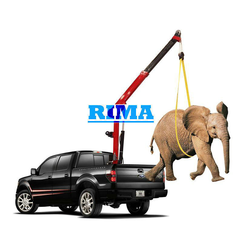 Mini Pickup Truck Crane View Lifting Cranes Rima Product Details From Yantai Rima Machinery Co