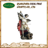 high quality angel resin religious statue
