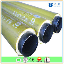 3 compositions of PUF insulated underground pre insulated carbon steel insulation pipe