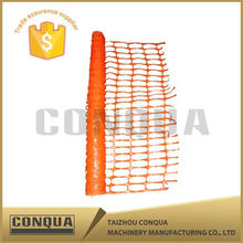 Manufacture Product Orange Flexible PE Plastic Safety Fence