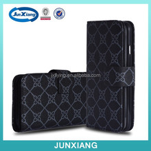 Multifunctional wallet bag stand leather flip case for iphone 6 China wholesale