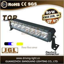 "light bar led 6800LM 20"" waterproof flood spot combo beam lamp car straight offroad led light bar"