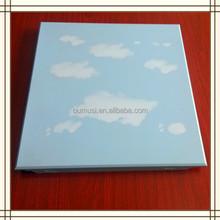 The blue sky pattern Aluminum ceiling tile, false ceiling design for hall, artistic ceiling