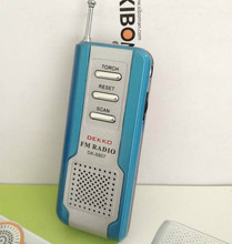 DK-8807 shenzhen good dual band boutique fm radio