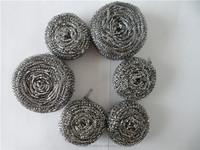 sponge dish cleaning ball galvanized wire scourer for making machine