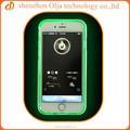 Olja PC bumper + TPU de fondo de flash flash caso para el iphone 6, para el iphone 6 estuche de plástico