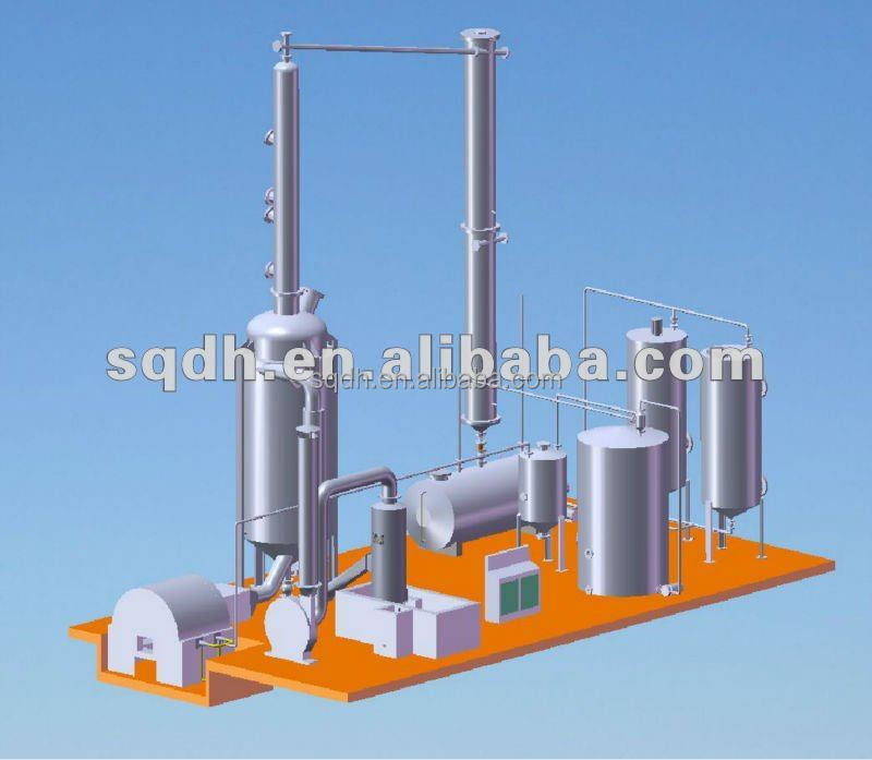 Jl 1 used motor oil recycling machine capacity 6 tons per for Used motor oil recycling equipment