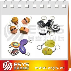 promotion Gifts(lovers, men, women, children, car, logo, alloy)Key Chains top 1 music gifts wholesale