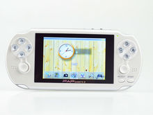 Top-quality 64 bit portable multimedia mp4 game player PAP-gameta II