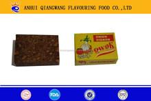 QWOK -10g/tablet x 15tablets/bag series bouillon cube halal vegetables,chicken ,beef ,shrimp,etc cube