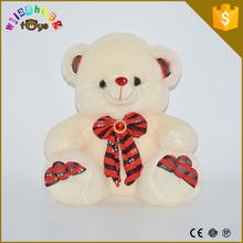 2015 Plush Valentines bear lovely assorted styles plush keychain toys plush animal keychain mini plush animals