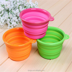 On The Go Large Silicone Expandable/Collapsible Travel Bowls
