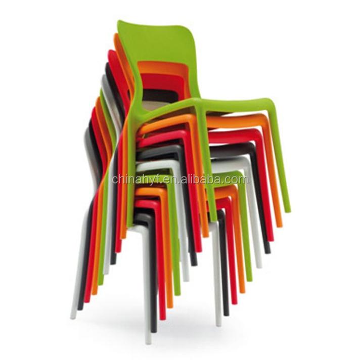 Replica Helios empilement chaise côté moins cher à manger chaise ...