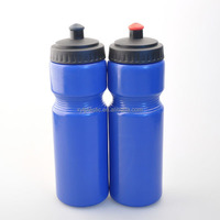 PE/plastic sports water bottle with customised printed logo