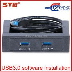 2014 new & cheap 3.5 inch computer 2 port usb hub drive