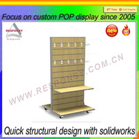 retail wooden scarf display rack provided by Chinese metal flooring retail wooden scarf display rack manufacturer