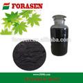 cáscara de coco en polvo de carbón activado para el agua caliente paquete de aplicación