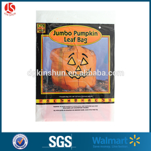 halloween super giant lawn and leaf decorative bags printed pumpkin