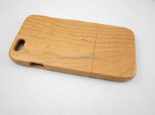 popular wood craft, natural cherry wood phone case for iphone6