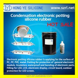 PCB Potting Silicone rubber, insulation silicone rubber for potting