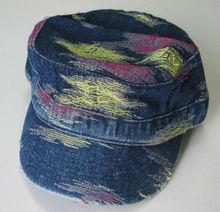 Distress Washed Fashion Camo Military Cap Hat custom cotton baseball cap army cap