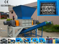 Double Shaft Waste Shredder/ Waste Shredding Crusher Machine for garbage