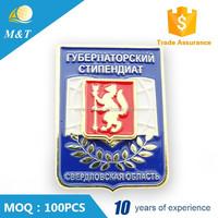 High quality custom military cap badge russian