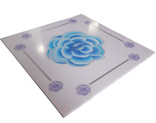 Hot Stamping New Design 59.5x59.5cm Square Pvc Ceiling