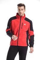 2015 new fashion mens fleece jacket velvet coat for autumn spring red black