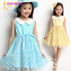 Wholesale factory costome girls casual gown dress fopr children