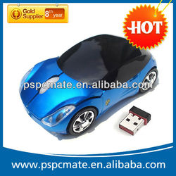 Red Sports Car Style Wired Optical Mouse hot and cheap for 2013
