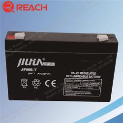 High Performance 6V 7Ah UPS Battery Used UPS Batteries